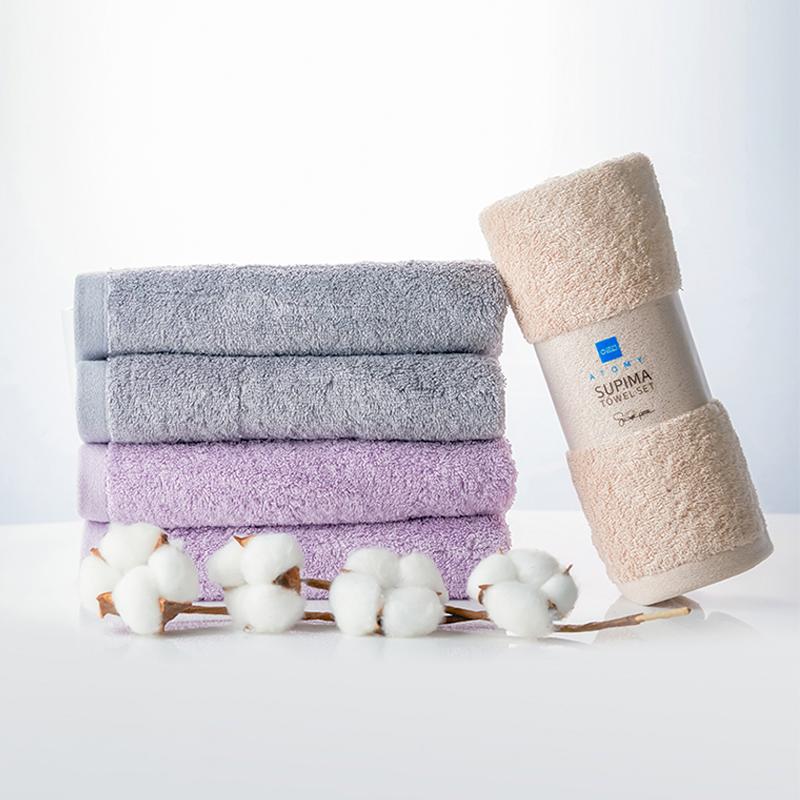 艾多美舒比马棉毛巾套装